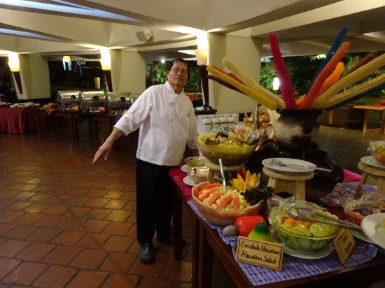Porta Hotel Del Lago: Dinner buffet