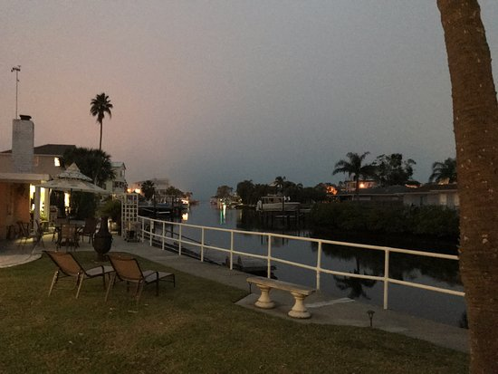 Hudson, FL: view off back porch
