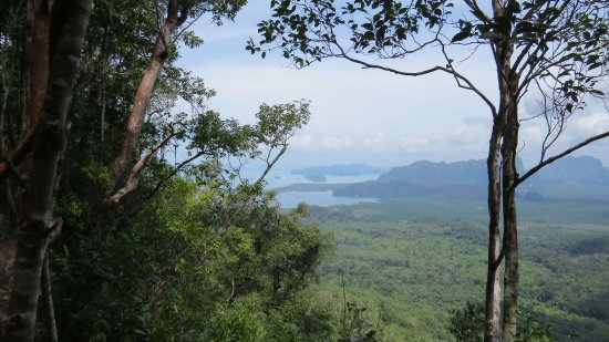 Nong Thale, Thailand: View from almost the top!