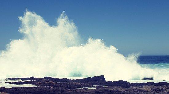 Tsitsikamma National Park, Sydafrika: Crashing wave
