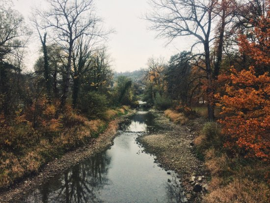Aare River in Brugg