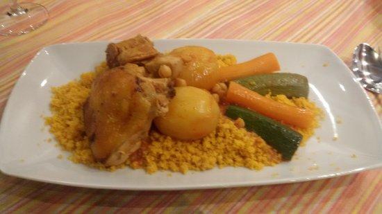 Lestizza, อิตาลี: cus cus alle verdure