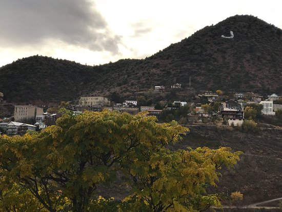 Jerome, AZ: Great views from the Park.