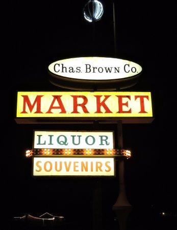 Mini Market next door to the Shoshone Inn