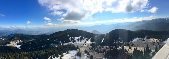 Pamporovo Ski Resort: The view from Snezhanka Tower.