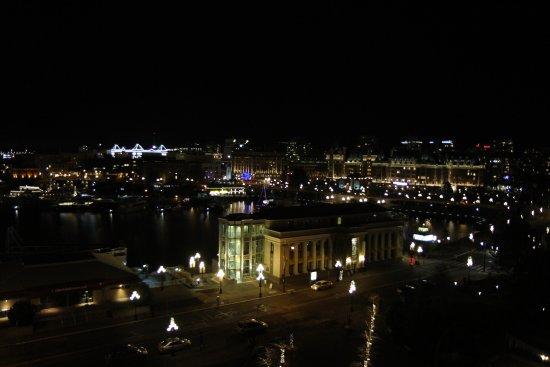 Hotel Grand Pacific: Blick auf den Inner Harbour