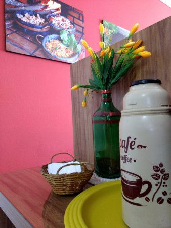 Pitangui, MG: Espaço do café,cortesia da casa