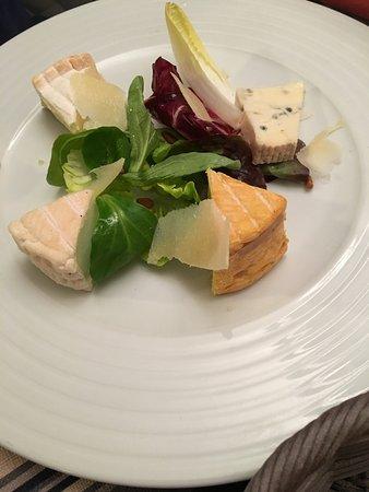 Le Chateau d'Oleron, ฝรั่งเศส: Assiette de fromages