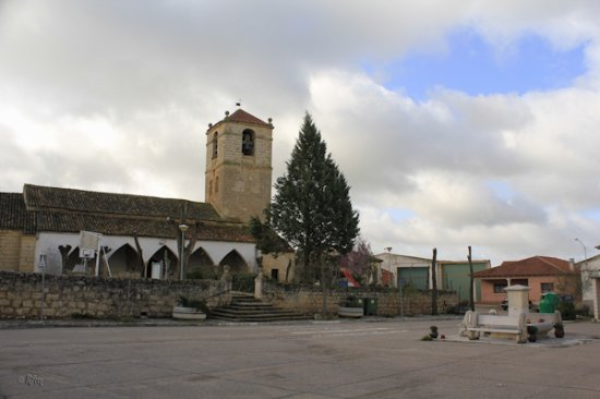 Province of Valladolid, Ισπανία: Villasexmir, Iglesia V y plaza