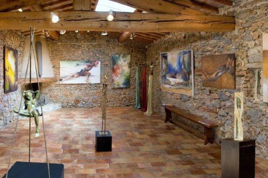 Carces, Frankrike: Jas de la Rimade, Galerie D'art Contemporain