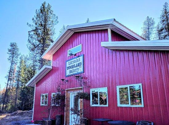 Priest Lake, ID: Lucinda's Woodland Bakery
