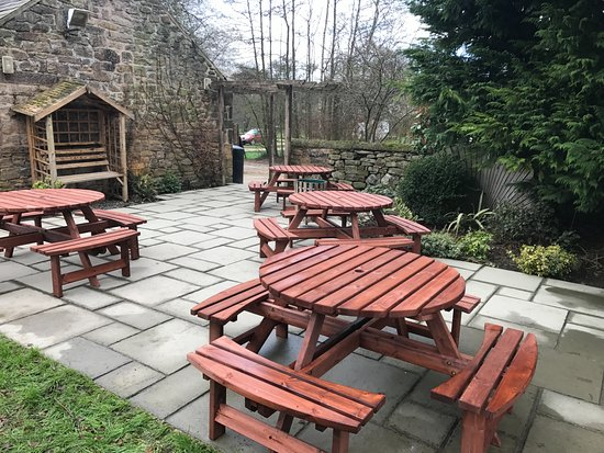 Rowsley, UK: Beer Garden