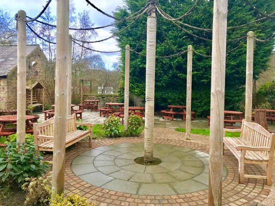 Rowsley, UK: Patio Area