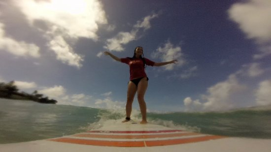 Атлантик-Шорс, Барбадос: Surfing In Barbados, Ride The Tide Surf School's surfing lessons