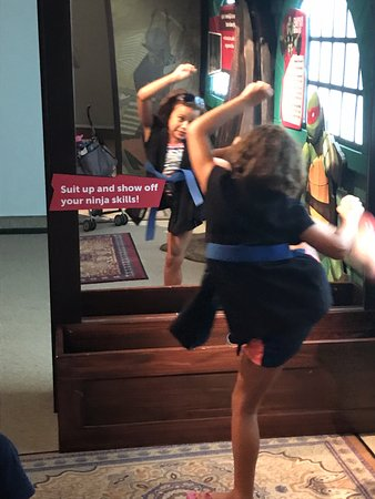 Reading, Pensylwania: Ninja practice