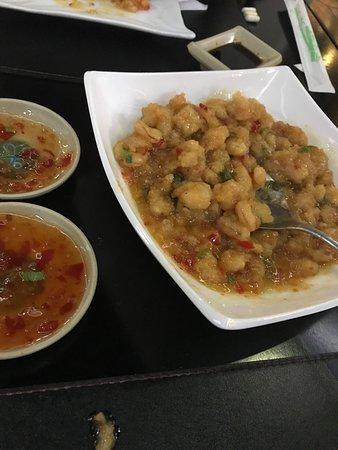 Guaira, PR : Excelente prato! Camarão com molho apimentado