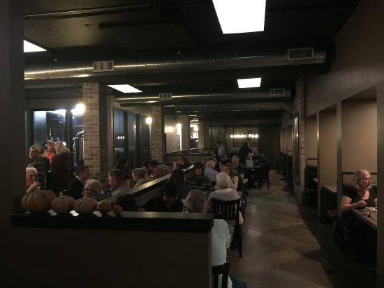 Auburn, CA: The long, narrow dining room.