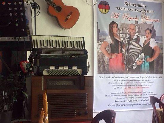 San Francisco, Colombia: Mi pequeña alemania