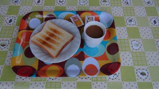 Nabari, Japón: 朝食は簡単です