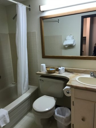 Bathroom, West Country Hotel 20222 56 Ave, Langley City, British Columbia