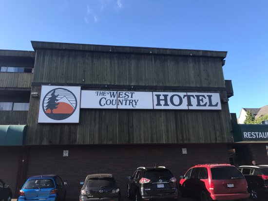 Hotel exterior, West Country Hotel 20222 56 Ave, Langley City, British Columbia