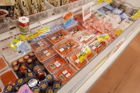 Shiranuka-cho, Japón: 売り場のえび