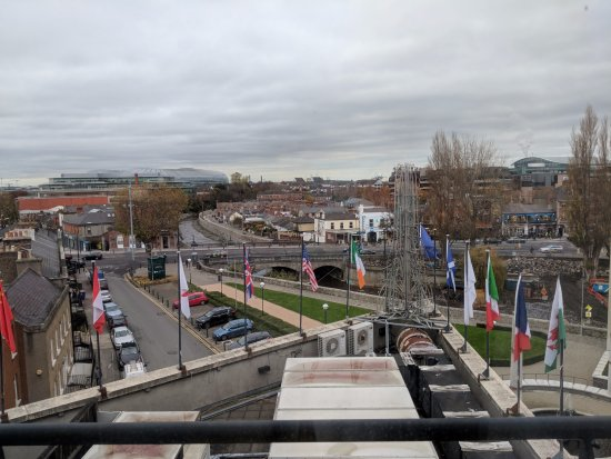 Herbert Park Hotel: View from the room