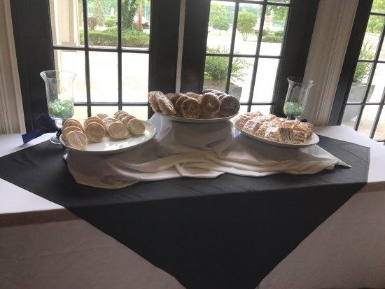 Lewiston, Estado de Nueva York: buffet spread