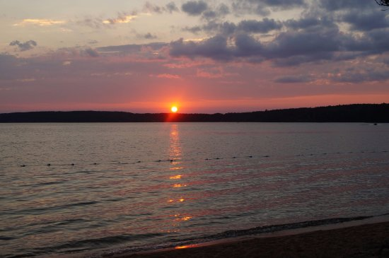 Kenora District, Canada: coucher de soleil