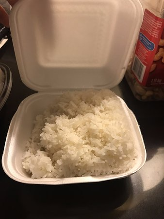 Sydney, Canada: Steamed White Rice