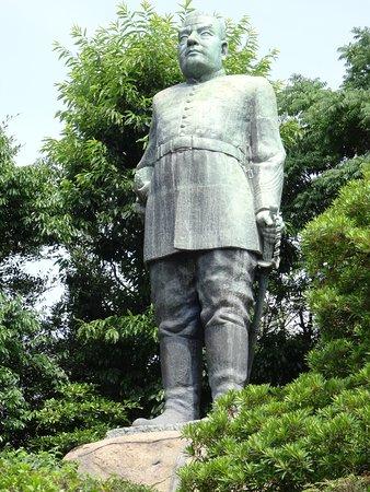Saigo Takamori Statue: 西郷隆盛像 (鹿児島県 鹿児島市)
