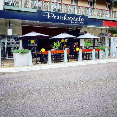 Maryborough, Австралия: Great Outdoor Seating Now at Parkside on Adelaide