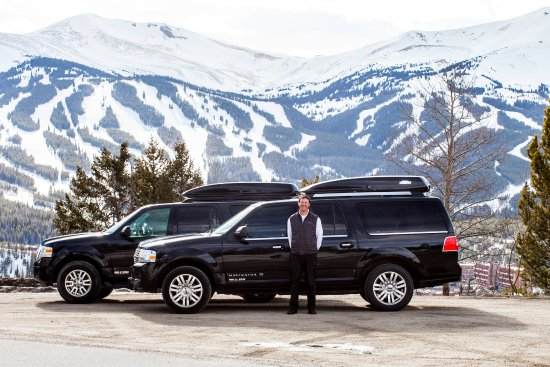 Frisco, CO: Black Mountain Limo offers ski area service anywhere in CO.