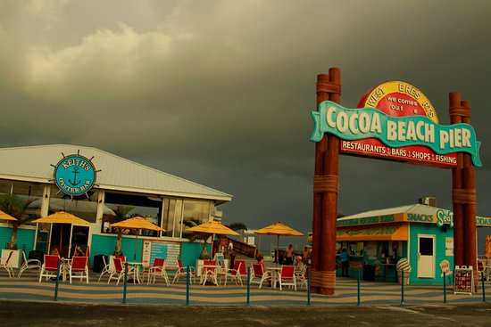 Cocoa Beach Pier Entry
