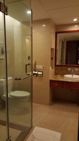 Zhangjiajie Qinghe Jinjiang International Hotel: 浴室乾濕分離