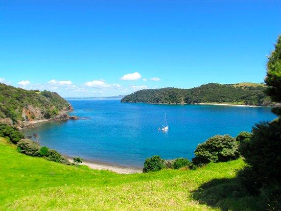 Paihia, Nueva Zelanda: Fantastic isolated anchorage around Urapukapuka