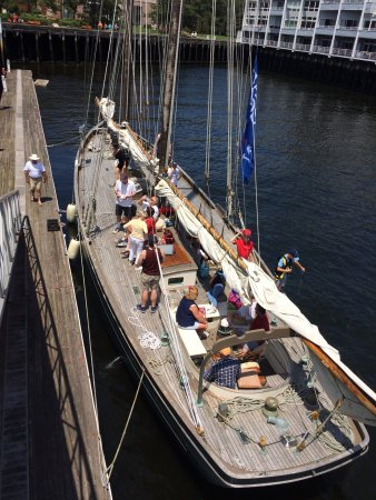 Chatham, MA: Family day at Sail Boston!