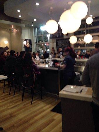 San Mateo, Kalifornien: Dining room