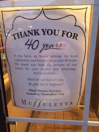 Muffuletta Cafe