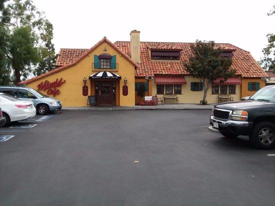 Front entrance off parking lot