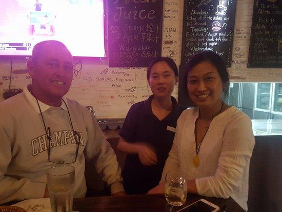 Nantong, China: Big boss Jana student and my business associate from australia
