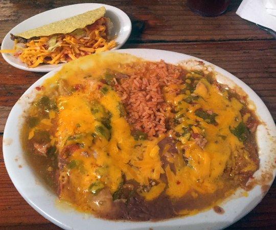 El Rito, Nuevo Mexico: Farolito Special Dinner Plate