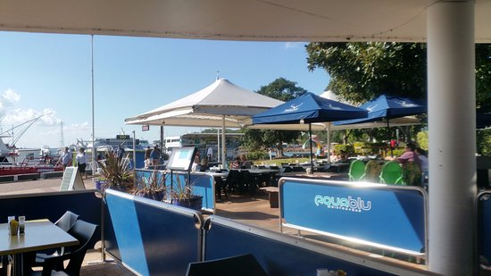 Nelson Bay, Australia: aqua blu