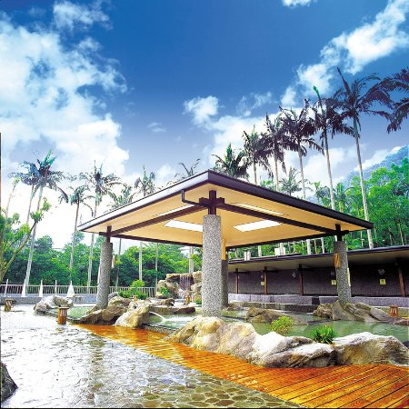 The Great Roots Forestry Spa Resort : 露天溫泉SPA