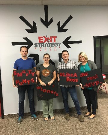 Exit Strategy- Escape Room