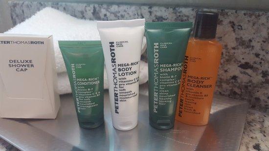 Hilton Auburn Hills Suites : Great soaps in room