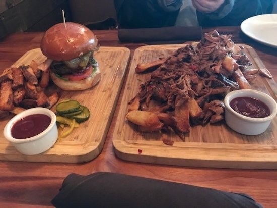 Milton, WA: Mill Burger and Dirty Pork Fries