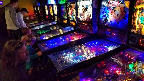 Louisville, CO: More than 20 new and vintage pinball machines - all expertly maintained.