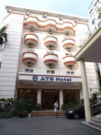 ATS Hotel: entrée de l'hotel