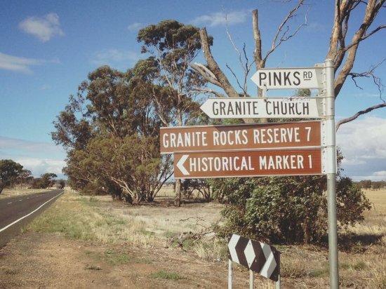 Donald, Αυστραλία: Granite Rocks Reserve